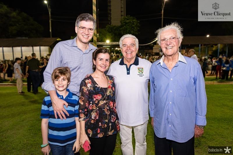 Arhtur Bastos, Augustos Bastos, Renata Fontenele, Garceis Neto, Garceis Filho