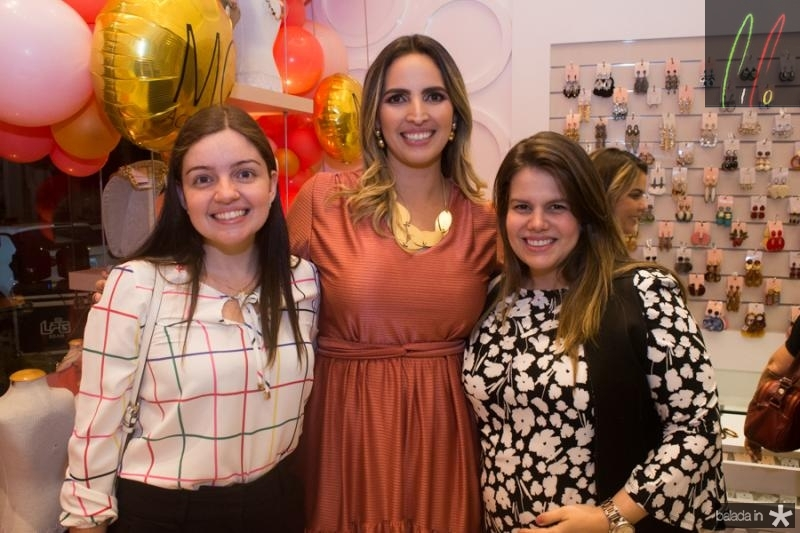 Rafaela Araujo, Mariana Queiroz e Rebeca Fontenele