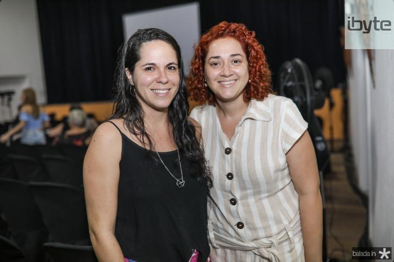 Juliana Lacerda e Ana Gazilda
