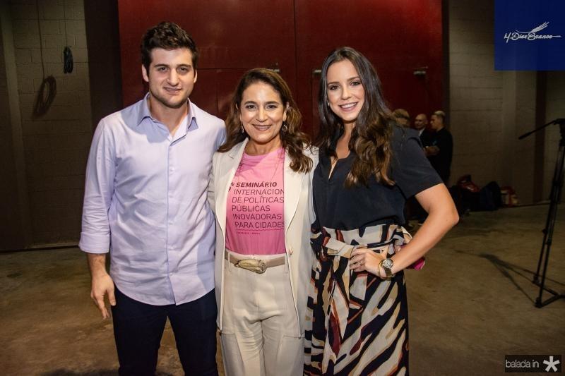 Omar Macedo, Patricia Macedo e Fernanda Levy