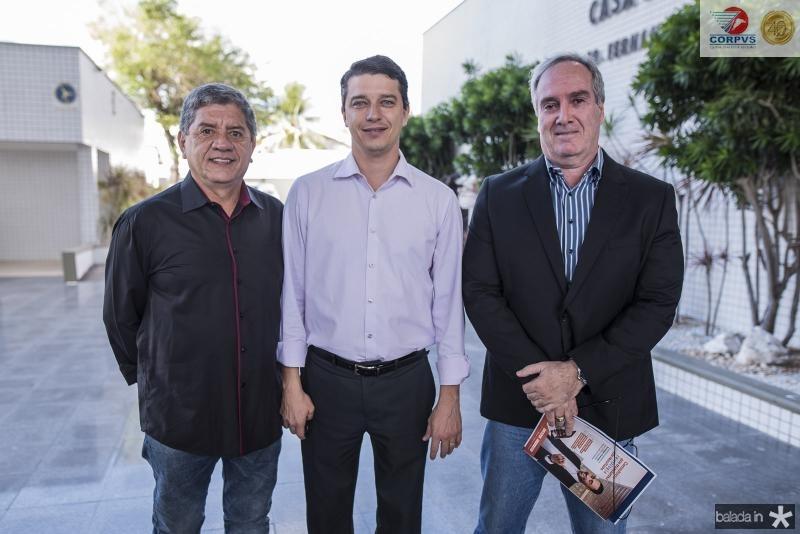 Sampaio Filho, Andre Siqueira e Francisco Marzi