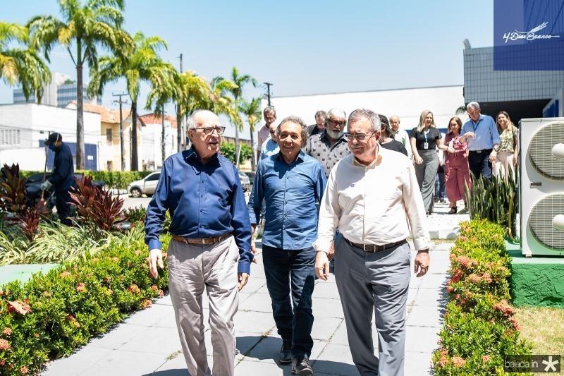 Lucio Alcantara, Rogerio Aguiar e Assis Cavalcante