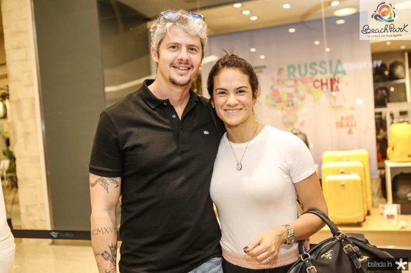 Stefan e Luana Campos