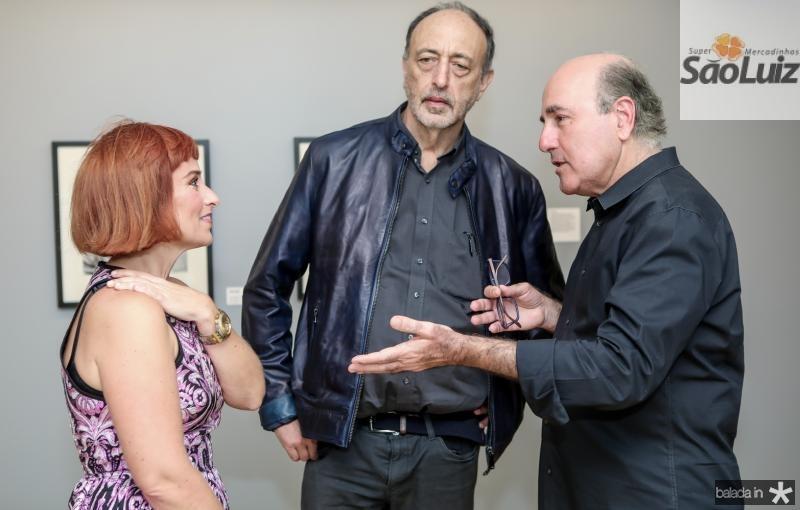 Angela Berlinde, Roger Ballen e Silvio Frota