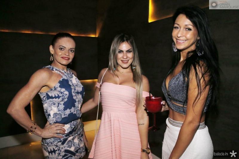 Cristina Borges, Samea Soares e Juliana Braga