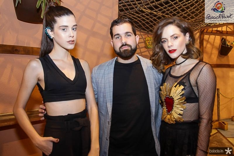Vitoria Borba, Felipe e Paula Rocha