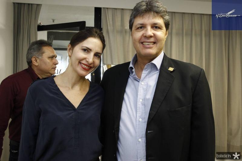 Edna Camara e Marcos Oliveira