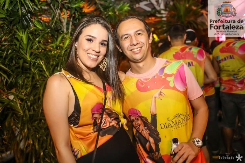 Alilana Gomes e Neto Mendes