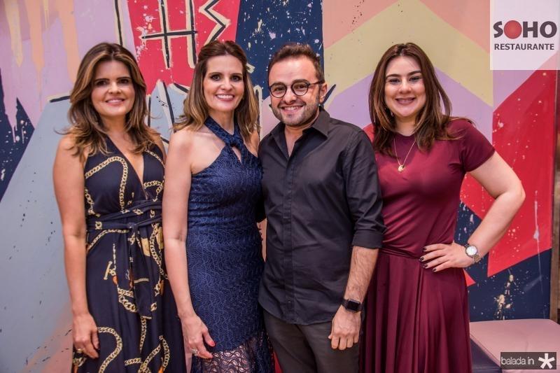 Cristine Feitosa, Viviane Goyanna Bayma, Ramiro Mendes e Lia Pinheiro