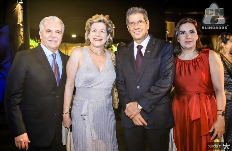 Pio e Estela Rolim, Ramalho Neto e Isabela Ramalho