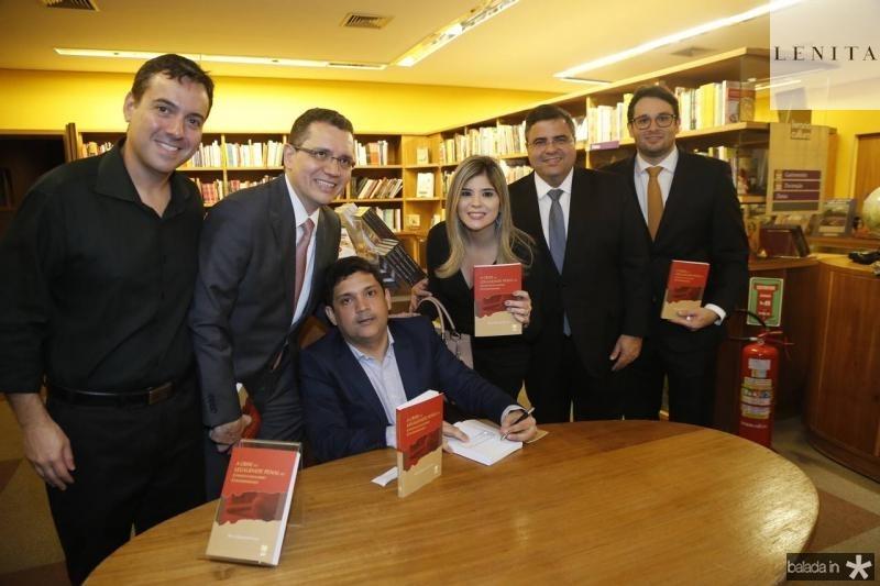 Sergio Miranda, Gledson Mota, Bruno Queiroz, Roberta Vasquez, Fabio Timbo e Marcel Feitosa