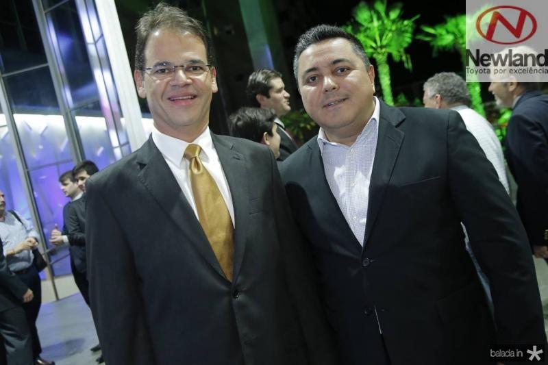 Marcelo Pinheiro e Diarlei Almeida