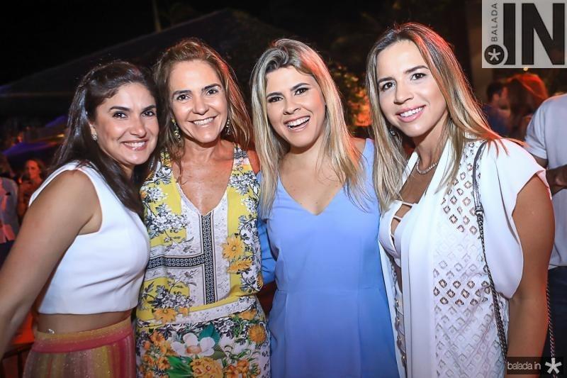 Sidia Holanda, Rafaela Pinto, Caroline Silveira e Isabella Barros Leal