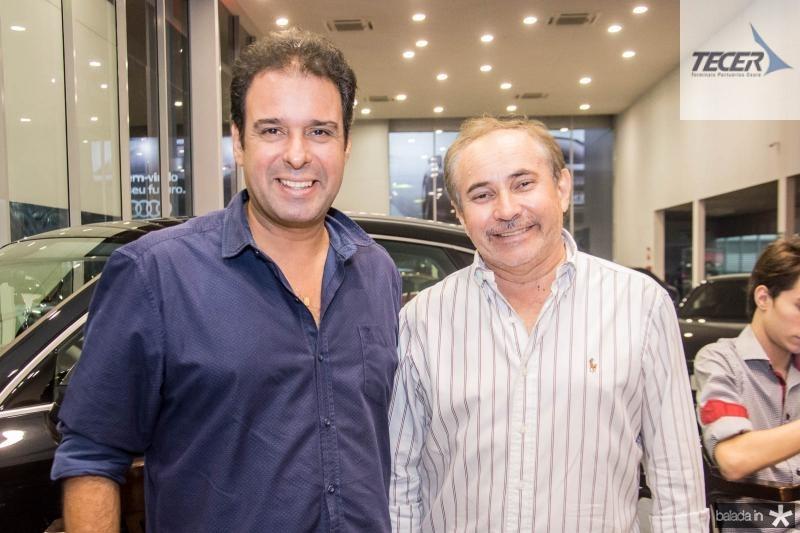 Fabio Campos e Arcelino Mentor