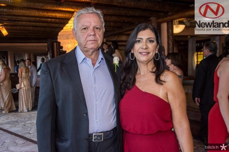 Franklin Roberto e Ana Claudia Braga
