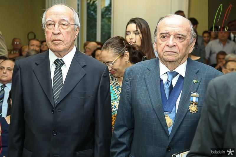 Lucio Alcantara e Ednilo Soares