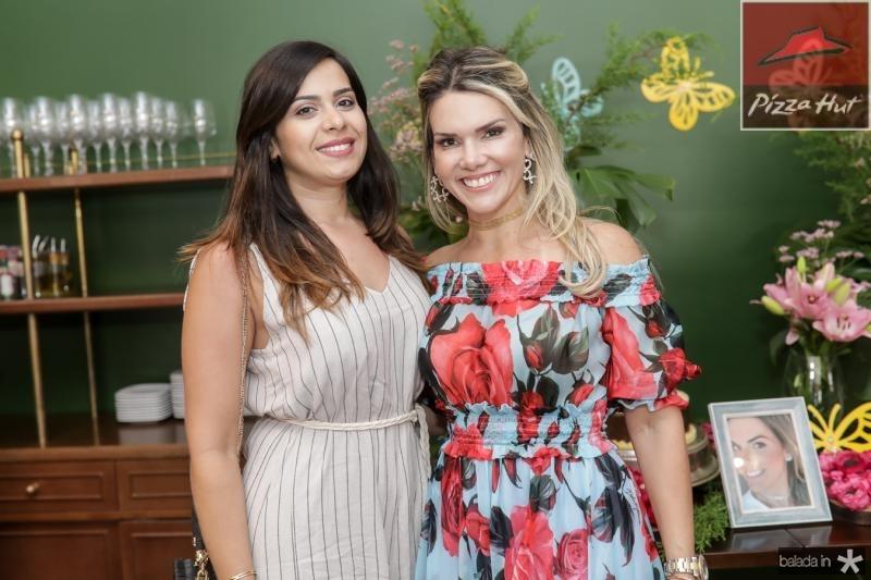 Mariana Frota e Pauliane Campos