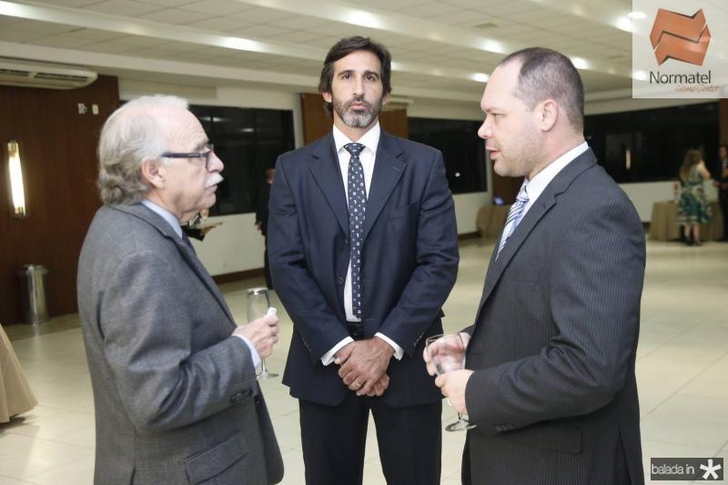 Ednilton Soarez, Lucas Fiuza e Heitor Freire