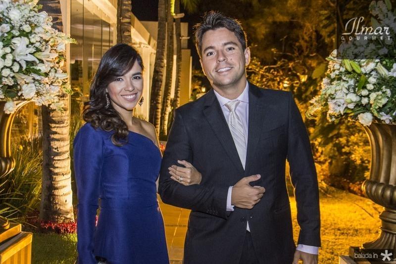 Marcela Santos e Pedro Santos