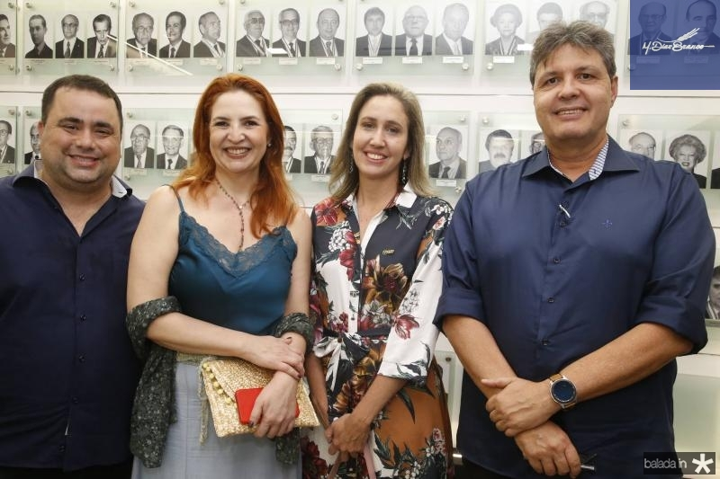 Ricardo Dreer, Enid Camara, Alessandra Romano e Marcos Oliveira