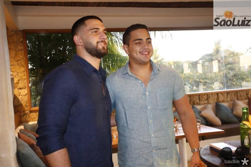 Bruno Nottingham e Rafael Pinto