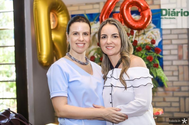 Ana Amelia Pinheiro e Raquel Vasconcelos