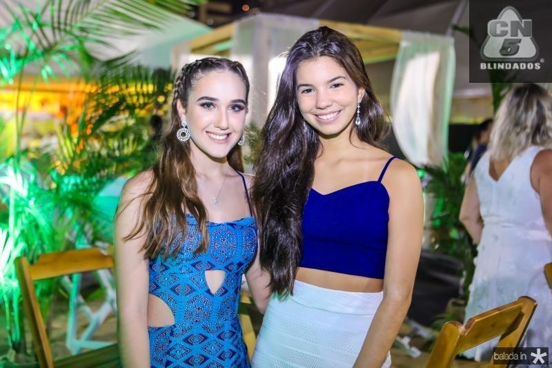 Beariz Frota e Gabriela Braga