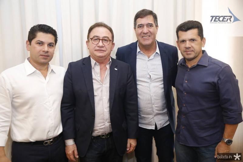 Pompeu Vasconcelos, Manuel linhares, luiz Gastao e Erick Vasconcelos