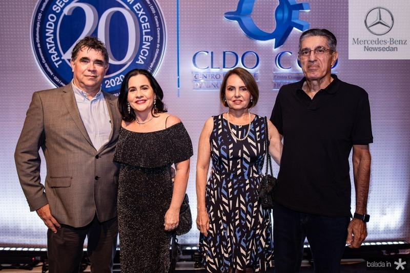 Marcos negreiros, Ana Cristina Machado, Cibele e Jose Hissa