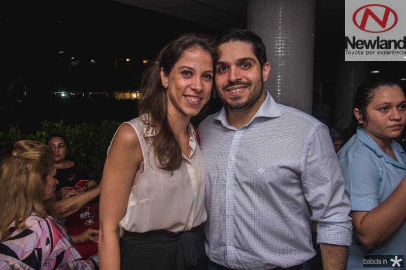 Natercia Saboia e Fernando Laprovitera