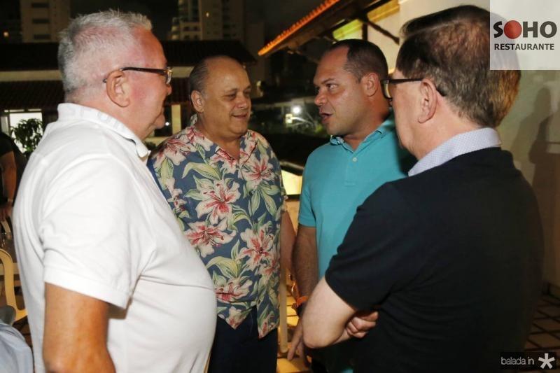 Alcimor Rocha, Heitor Freire, Philomenno Junior e Joao Borges