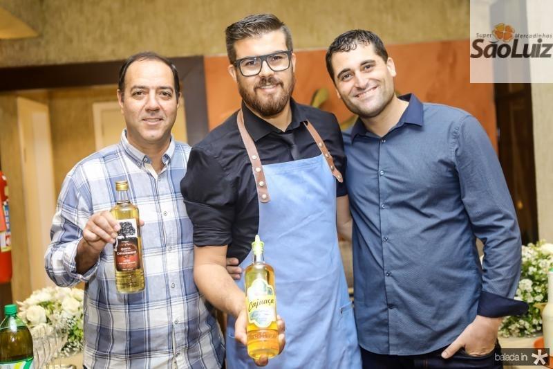 Ernesto Galo, Rafael Andrade e Mauricio Campos