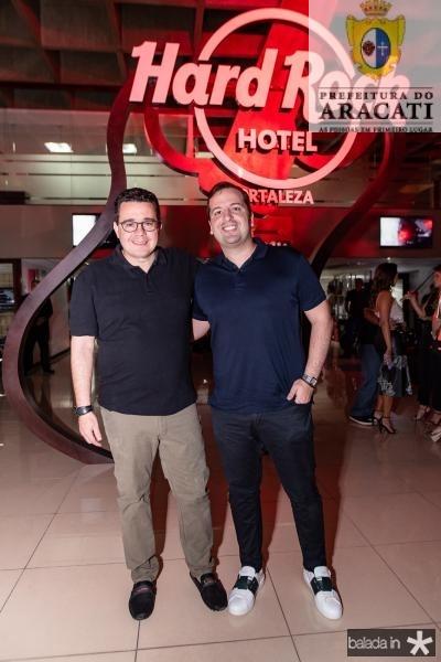 Samuel Sicchhierolli e Rodrigo Ponte