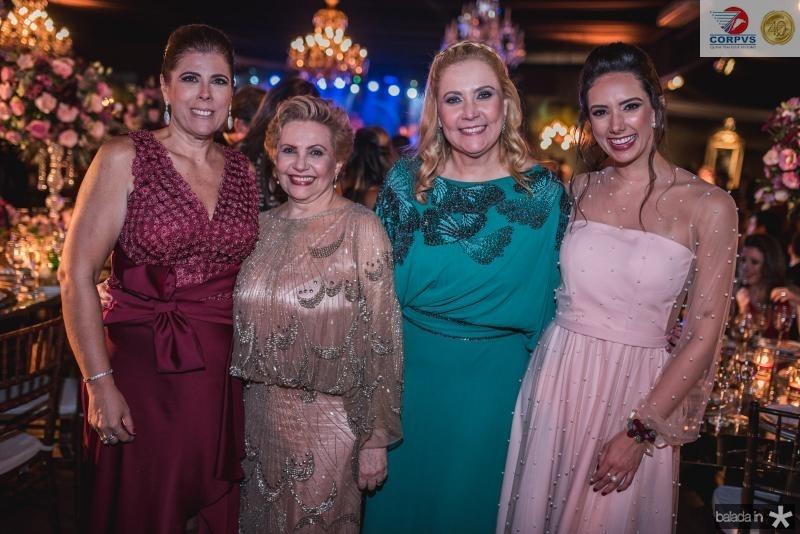 Nara Amaral, Aila Bezerra, Andrea Bonorandi e Talita Bezerra