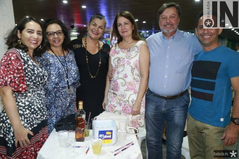 Lea Montenegro, Daniele Wanderley, Ana Canario, Otavio Martin, Leonardo Danziato e Everardo Montenegro