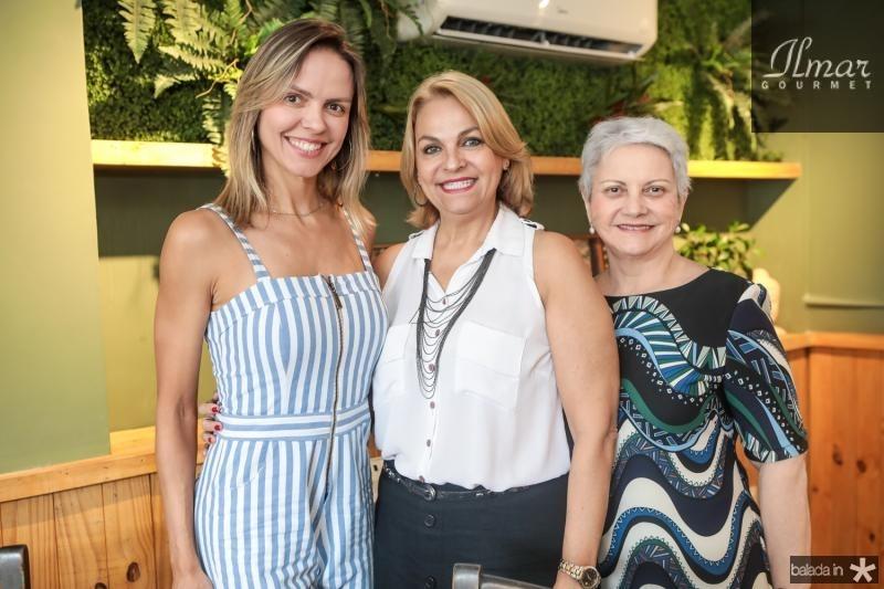Elisa Miranda, Mel Siqueira e Lucilia Miranda