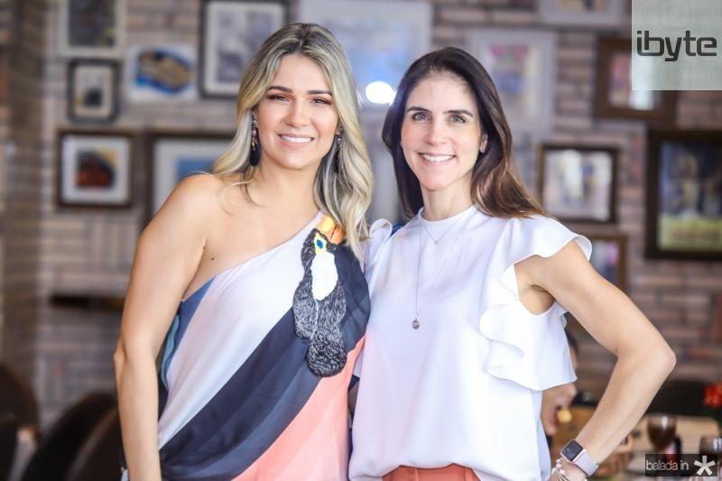 Jeritza Gurgel e Raquel Juca