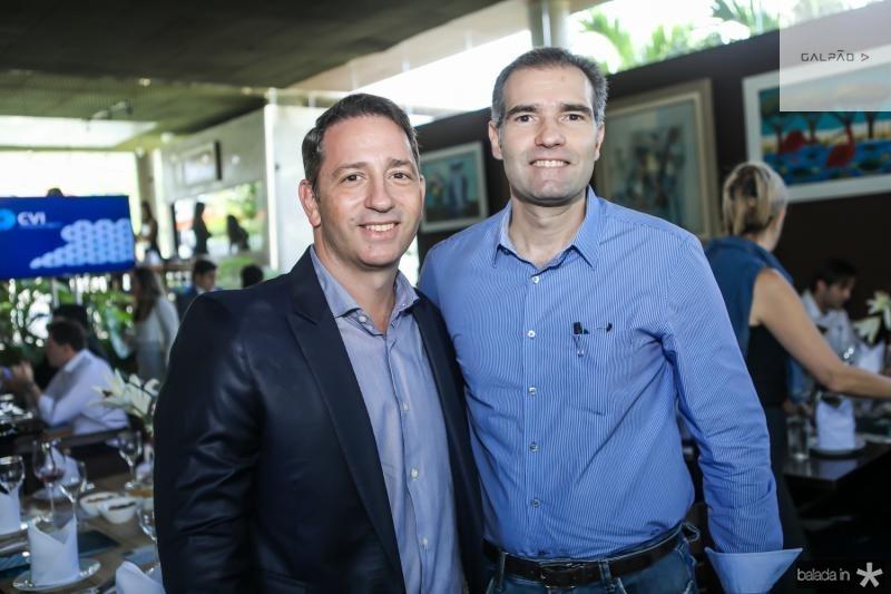 Newton Guimaraes e Eduardo Figueredo
