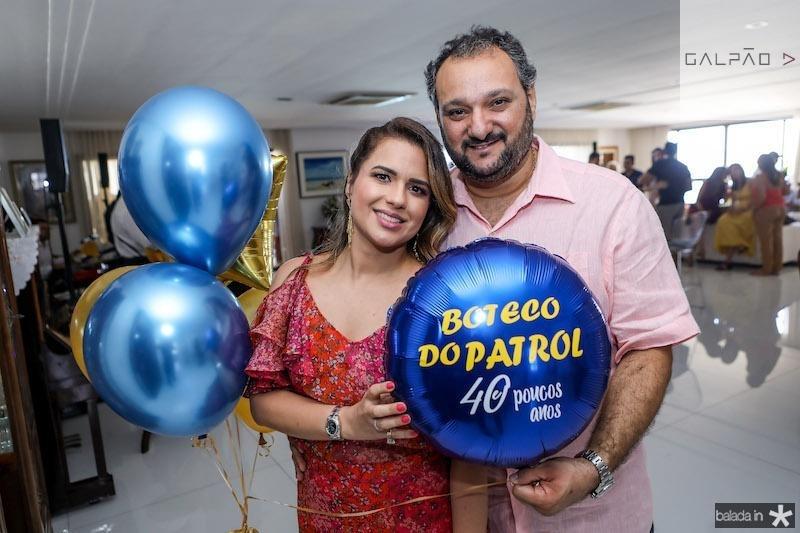 Renata e Patriolino Dias