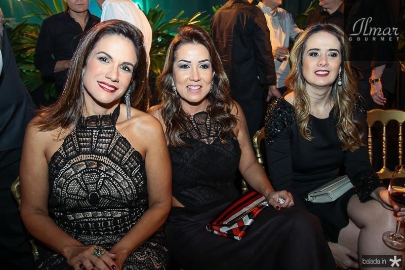 Ana Virginia Martins, Ana Vladia Sales e Gisele Pessoa