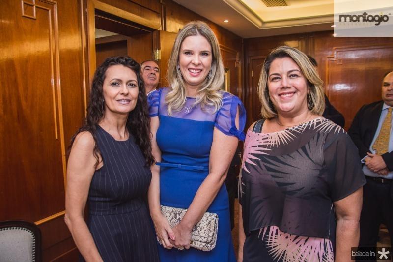 Giovana Linhares, Mariana Lobo e Adryana Joca
