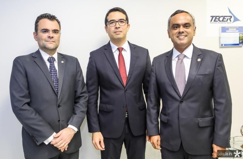 Rodrigo Costa, Rholden Botelho e Marcelo Mota