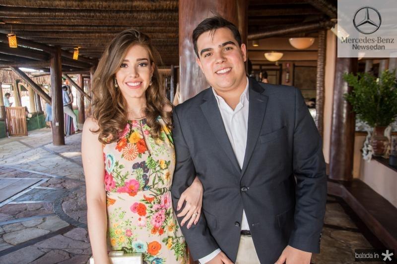 Ana Paula Lanza e Thiago Pinho