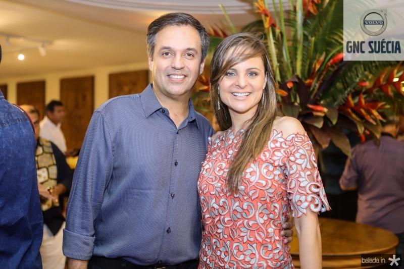 Fernando Novais e Virginia Furlani
