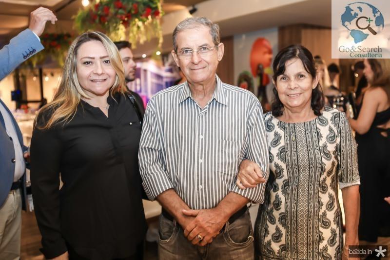 Anita Erica, Pedro e Luzia Fonseca