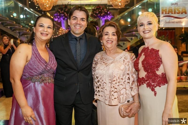 Veronica, Gustavo e Nubia Jaco, Fernanda Santos