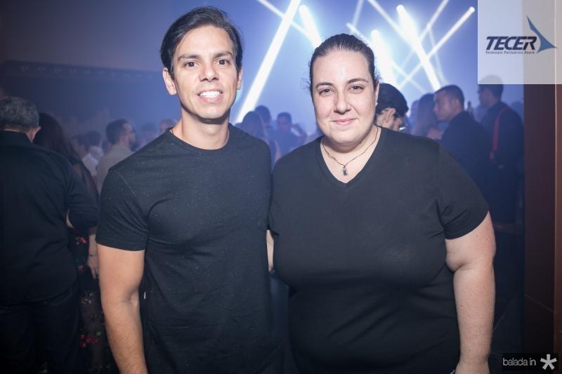 Italo Girao e Clara Frank