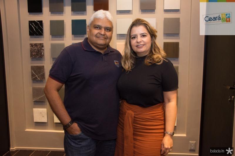 Robson Gomes e Cristiane Quadros