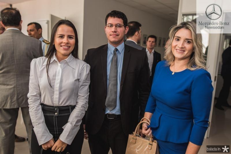 Clara Ximenes, Edgar Bruno e Mayra Sousa