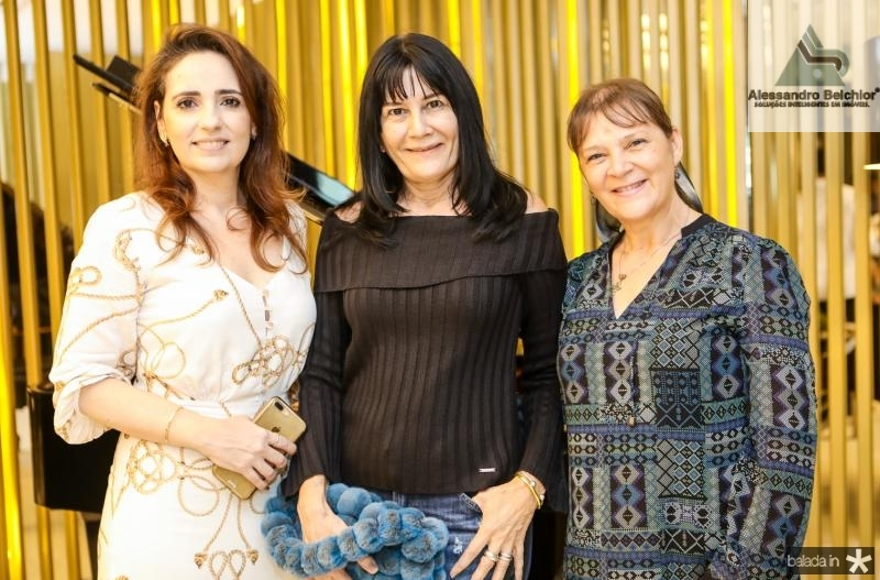 Isabela Fontenele Rosalinda Pinheiro e Marli Mendes